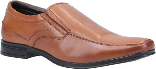 Hush Puppies Billy Slip On Mens Shoes Dark Brown